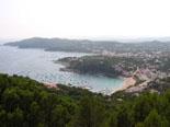Ausblick auf die Costa Brava