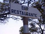 Wegweiser Bar-Restaurante