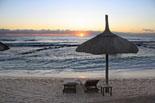 Sonnenuntergang am Strand von Cambrils