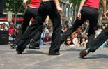Tänzer bei einer Fiesta
