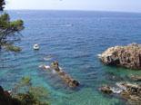 Aussicht auf das Meer an der Costa Brava